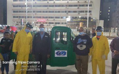 معا للقضاء على انتشار فيروس كورونا في مصر